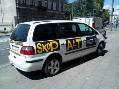 Reklama na samochodach 3